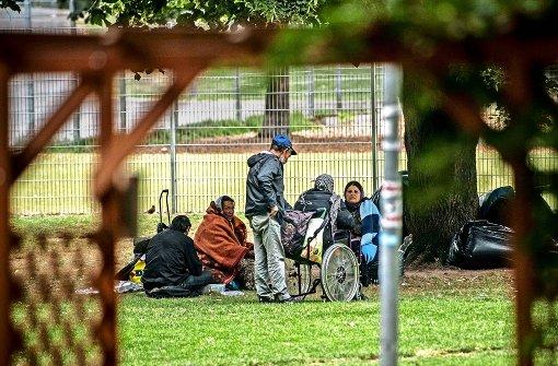 Roma weichen auf neue Plätze aus