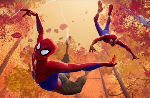 Spider-Man wird auch zum Ferkel
