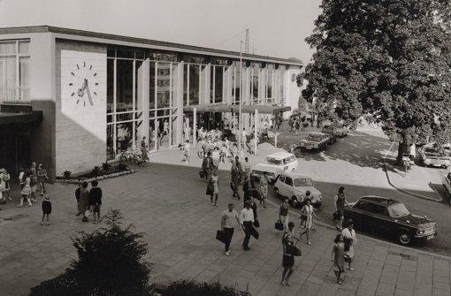 Seit den 60er Jahren hat sich am Göppinger Bahnhof kaum etwas getan. Das soll sich in den kommenden Jahren ändern. Foto: Stadtarchiv Göppingen
