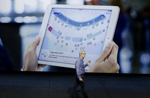 Apple stellt Mega-Tablet vor