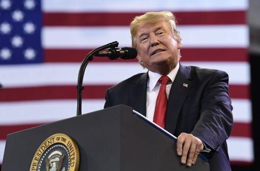US-Präsident Trump zeigt Härte trotz Kehrtwende bei Flüchtlingskindern
