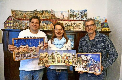 Adventskalender aus Stuttgart-Rohr gehen um die Welt