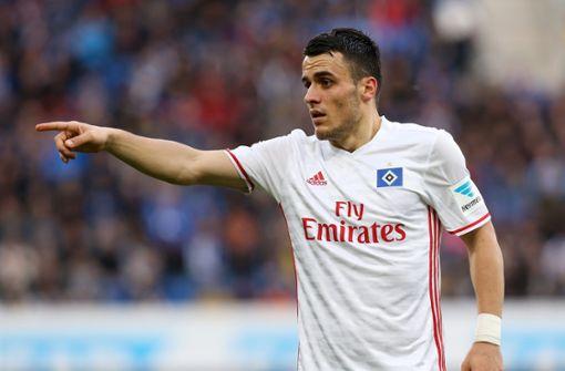 Filip Kostic wechselt von der 2. Liga zurück in die Bundesliga. Eintracht Frankfurt leiht den Ex-Stuttgarter aus. Foto: Pressefoto Baumann