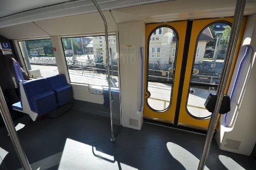 Mit der Stadtbahn U12 zum Hallschlag