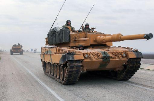 Türkei setzt wohl deutsche Panzer in Syrien ein