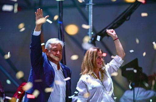 Linkspopulist López Obrador siegt bei Präsidentenwahl