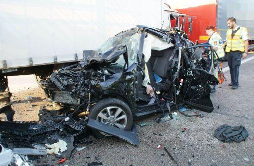 Tödlicher Unfall auf der A 5
