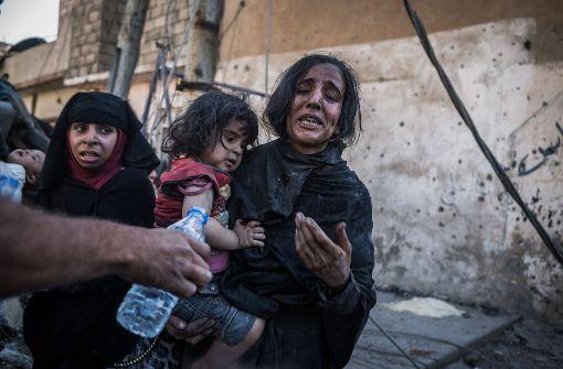 IS soll 100.000 Zivilisten als Schutzschilder festhalten