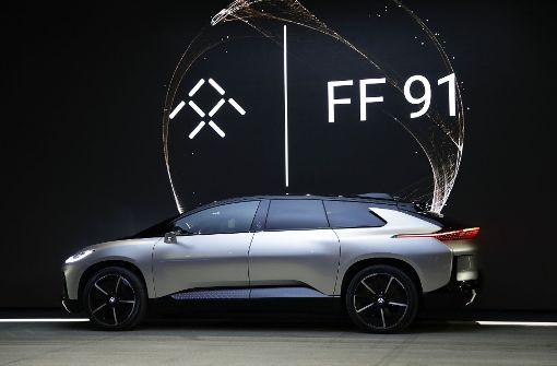 Faraday Future protzt mit neuem Elektroauto FF91