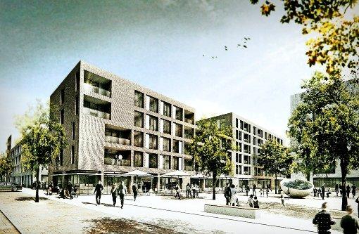 esslingen neue weststadt gewinnt an kontur landkreis esslingen stuttgarter nachrichten. Black Bedroom Furniture Sets. Home Design Ideas