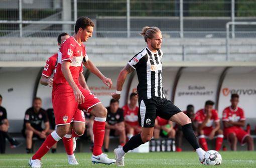 Der VfB Stuttgart und SV Sandhausen trennen sich 1:1