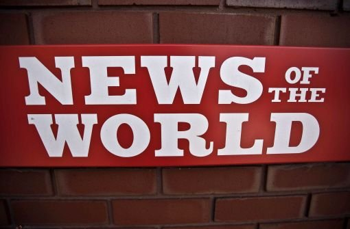 News of the World wird eingestellt