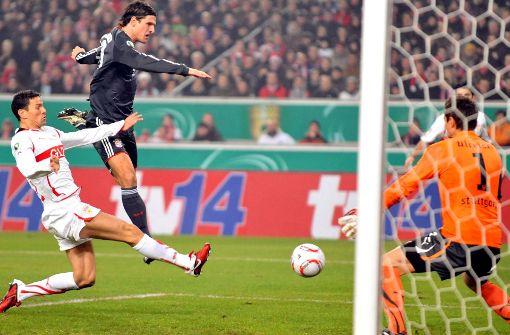 Testen Sie Ihr Wissen zur Partie VfB gegen FC Bayern München