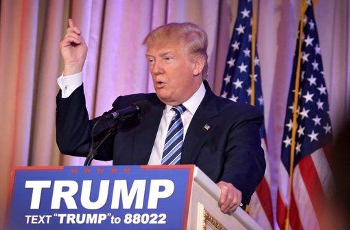 Der Wahlkampfleiter von Donald Trump soll eine Reporterin körperlich angegangen sein. Foto: dpa