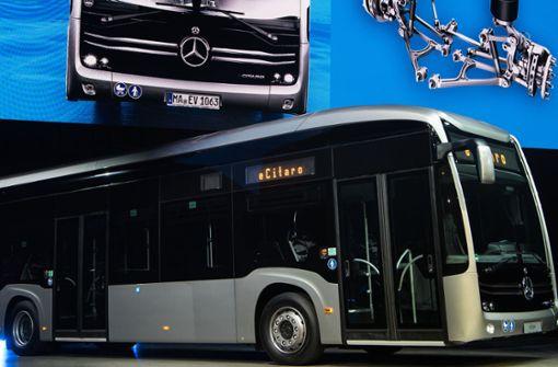 SSB wartet auf E-Bus von Daimler