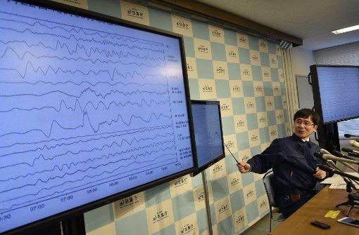 Schweres Erdbeben erschüttert Fukushima