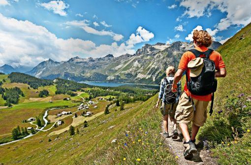 Auf neuen Pfaden durch die Alpen