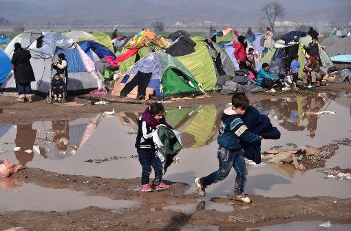 Deutsche wollen Flüchtlinge aus Idomeni holen