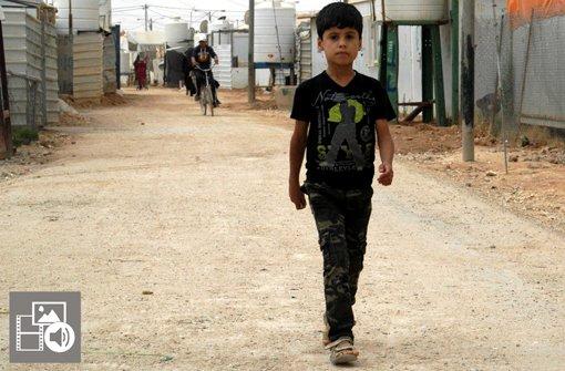 Ein Tag im jordanischen Flüchtlingscamp Zaatari