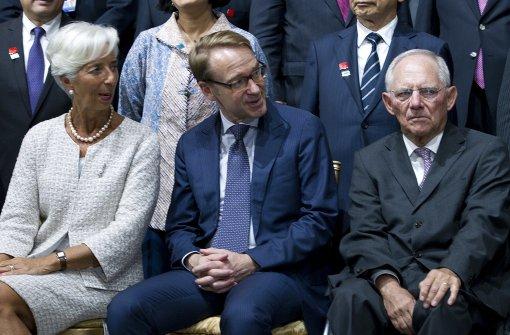 Schäuble verärgert über Forderungen zu Deutscher Bank