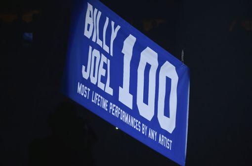 Es ist das 100. Konzert gewesen, dass Billy Joel allein im Madison Square Garden gespielt hat. Foto: Invision