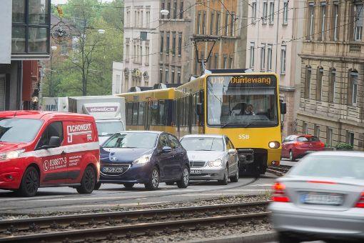 Gute Luft im Stadtbezirk Degerloch am Dienstag