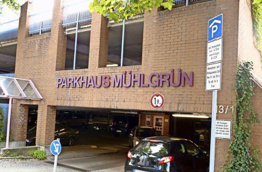 In den oberen beiden Etagen des Parkhauses Mühlgrün dürfen Anwohner der Altstadt jetzt ihr Auto abstellen. Foto: Uli Nagel