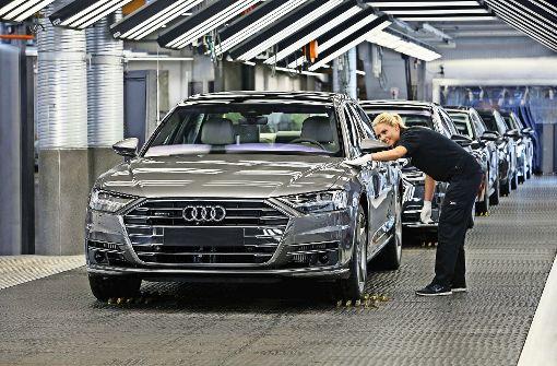 Audi bläst zur Attacke