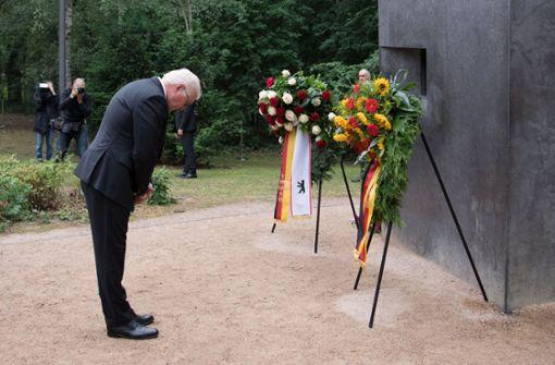 Bundespräsident Steinmeier bittet um Vergebung