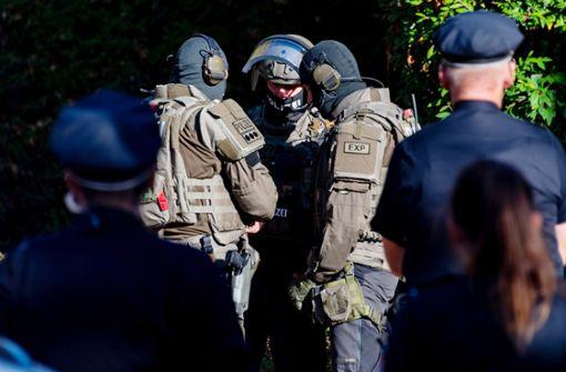 Spezialeinheit nimmt verschanzten Mann fest