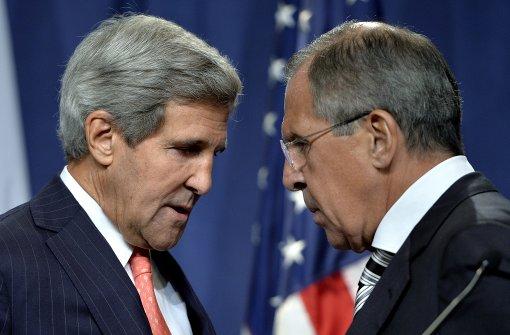Russland kündigt Treffen mit US-Außenminister Kerry an