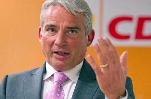 Thomas Strobl (CDU). Foto: dpa