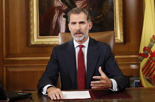 Der König spaltet Spanien