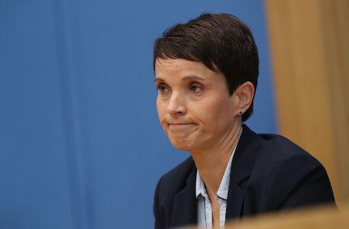 Ehemalige AfD-Chefin Petry für Minderheitsregierung