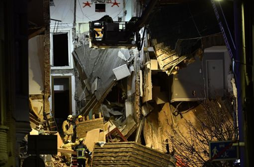 14 Verletzte und drei zerstörte Wohnhäuser