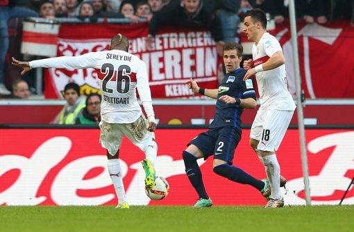 Serey Dié bringt den VfB mit 1:0 in Führung. Foto: Getty