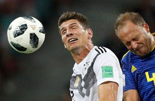 Mario Gomez – so wie einst gegen Österreich?