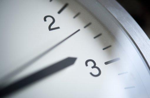 Am  25. Oktober wird die Uhr um 3 Uhr eine Stunde zurückgestellt. Foto: dpa