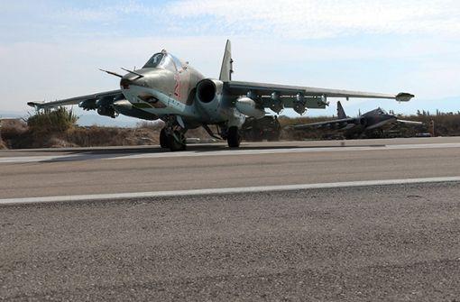 Rebellen sollen russischen Kampfjet abgeschossen haben