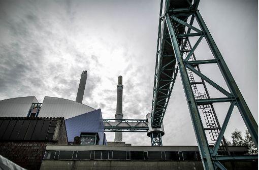 Die EnBW ersetzt das bestehende Kohle-Kraftwerk im Stuttgarter Stadtteil Gaisburg durch einen kleineren Neubau, der mit Gas befeuert wird. Foto: Lichtgut/Leif Piechowski