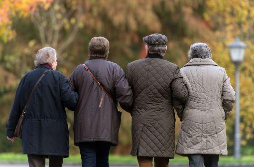 Immer mehr älteren Menschen in Deutschland drohen Armut. Foto: dpa