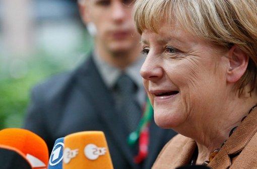 Kanzlerin Merkel zeigt einen Realitätsverlust wie einst Helmut Kohl. Foto: dpa