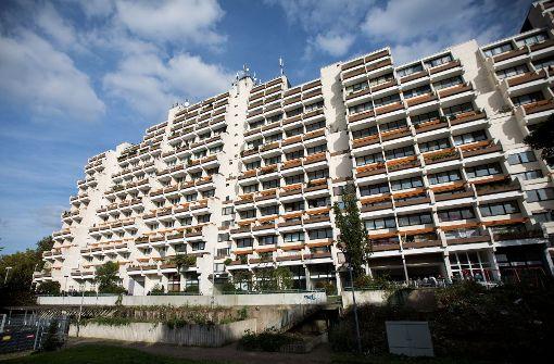 Riesiger Hochhauskomplex wird geräumt