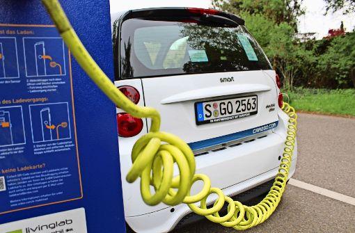 In den Randgebieten fließt kein Strom für E-Autos