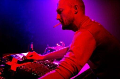 Am DJ-Pult: Paul Kalkbrenner in Aktion Foto: promo