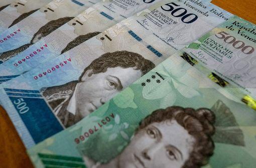 Größere Scheine gegen Hyperinflation