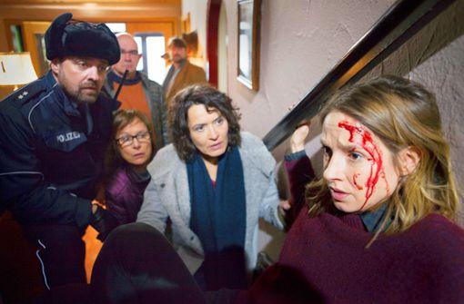 Lena Odenthal verirrt sich in einen  Edgar-Wallace-Film