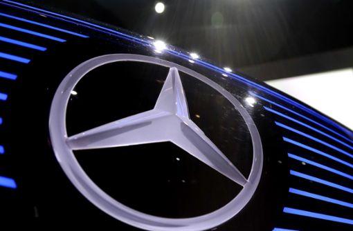 Beim Stuttgarter Autobauer Daimler läuft zurzeit nicht alles rund. Foto: AP