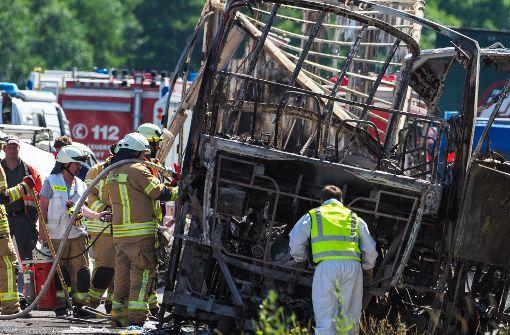 Unaufmerksamkeit des Fahrers verursachte Unfall