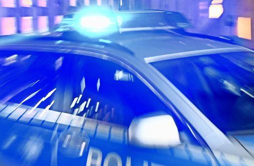 Polizeihubschrauber sucht Kupferdieb